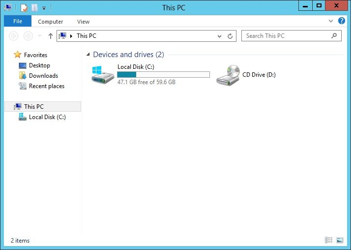 removing desktop documents downloads music pictures and videos