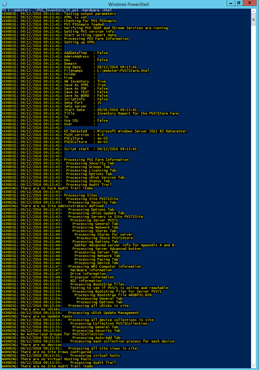Using the New Citrix Provisioning Services PowerShell with PVS 7 0