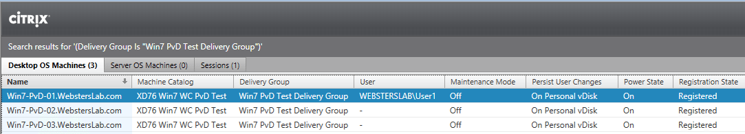 Citrix XenDesktop 7 6, Provisioning Services 7 6 and the XenDesktop