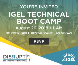 Disrupt Las Vegas Technical Bootcamp