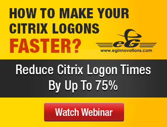 eG Innovations: How to Make Citrix Logons 75% Faster?